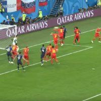 Samuel Umtiti, a francia hátvéd váratlan gólja. - Goal of the Day: Samuel Umtiti's goal sends France to the Final